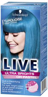 Live Ultra Brights Or Pastel Turquoise Temptation Turquoise