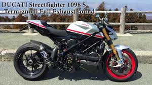 ducati streetfighter 1098 s custom termignoni full ducati 1098