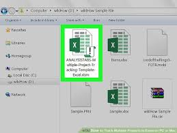 Mac Excel Template How To Track Multiple Projects In Excel On Pc Or Mac 13 Steps