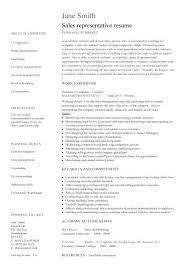 Sales Rep Sample Resume Enchanting Manufacturer Representative Resume Sample Sale Accounting Supervisor