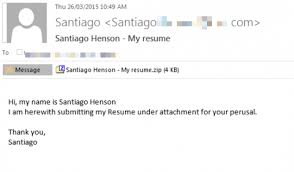 attach resumes beware of resume emails bearing ransomware department of