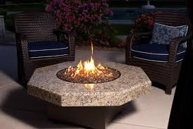 gas outdoor fireplace glass rocks fireplaces nyc u outdoor kitchens fire pit lava rock adjustmernt you