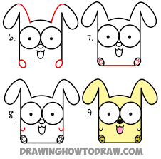 Small Picture How to Draw Cartoon Baby Dog or Puppy from Letters Easy Step by