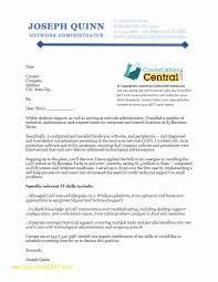 Top Result Sysadmin Cover Letter Elegant Network Administrator Cover
