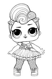 Lol Doll Coloring Pages Toys Coloring Pages Lol Dolls Coloring