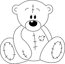 Best Of Teddy Bear Heart Coloring Pages Printable Pages Tiqusgq