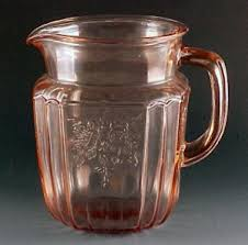 Pink Depression Glass Patterns Mesmerizing Depression Glass On Parade