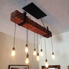 absolutely wood beam chandelier reclaimed with iron bracket unique diy canada uk australium light