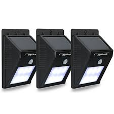 Amazoncom Concept SL100 32LED SolarPowered Security Light Solar Powered Outdoor Security Light Motion Detection