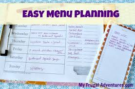 How To Start Weekly Menu Planning (+ Free Menu Plan Worksheet) - My ...