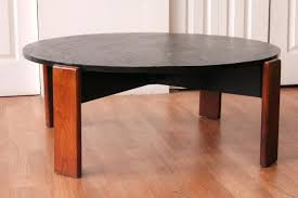 pearsall coffee table adrian style walnut slate