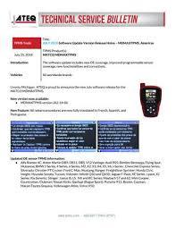 Dill Tpms Application Chart 2018 Mdmaxtpms Tool By Mid Atlantic Tools Issuu