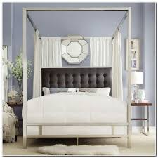 Chrome Canopy Bed King | Furniture Modern and Unique Design