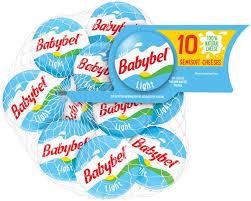mini babybel light semisoft cheeses 10 ct bag
