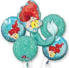 <b>Little Mermaid Party Balloons</b> for sale | eBay