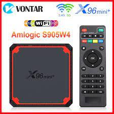 2021 X96 Mini Plus TV Box Android 9,0 Amlogic S905W4 Quad Core A53 Dual  Wifi H.265 4K 30fps Unterstützung google Stimme Youtube X96Mini|Set-top  Boxes