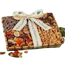 wine country gift baskets mixed nut gift box