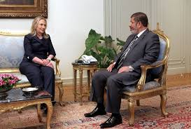point furniture egypt x: secretary of state hillary rodham clinton with president mohamed morsi an islamist their focus was egypts transition credit khaled elfiqi european