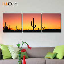 Wall Art For Living Room Popular Cactus Wall Art Buy Cheap Cactus Wall Art Lots From China