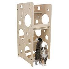 modern cat tree furniture. frontpet bubble cat tree tower 23 l x 18 w 48 h modern furniture c