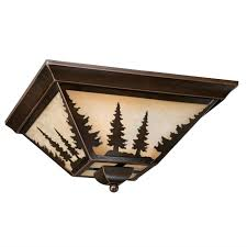 big sky flush mount ceiling light view full size