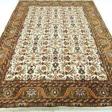 indo bidjar herati 246 x 176 cm modern oriental carpet in natural shades