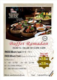 Hotel Sentral Johor Bahru Senarai Buffet Ramadhan Johor Bahru 2017