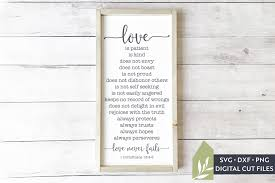 You can download this svg images for free. Love Never Fails Svg Files Christian Svg Bible Verse Svg 988685 Cut Files Design Bundles