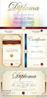 Материалы за Портал графики и дизайна векторный и  Дипломы и сертификаты в векторе vector certificates and diplomas 21