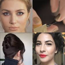 party hair and make up video tutorials