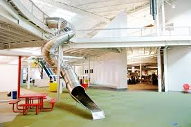 rackspace office. In Addition To Themed Work Areas, Rackspace\u0027s Office The Former Windsor Park Mall Has Many Playful Diversionary Elements, Including A Spiral Slide, Rackspace