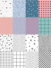 Photoshop Pattern Delectable 48 Memphis Patterns Photoshop Patterns FreeCreatives