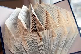 december pine tree folded book pattern