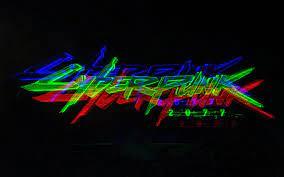 Cyberpunk 2077 Blurred Logo - KoLPaPer ...