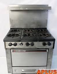 Garland Appliance Parts Garland H286 Range 6 Burner Stove Natural Gas W Oven 36 Whats
