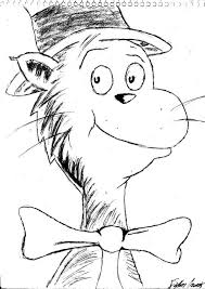 Small Picture Coloring Pages Cat In The Hat Coloring Pages How To Draw Dr Seuss