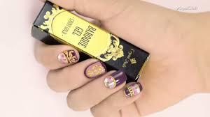 Baroque Nail Art with Baroque Gel and Baroque Stickers - Step-By ...