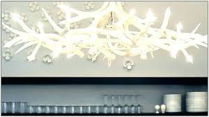 chandeliers faux antler chandelier white pure nice chandelie