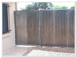 sheet metal fence.  Fence Metal Fence Cost Exotic Corrugated Co Stylish Intended For  Price Per Throughout Sheet Metal Fence L