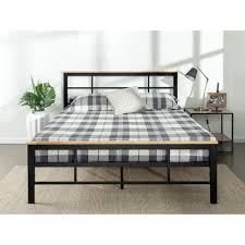 king platform bed. Zinus Urban Metal And Wood Black Twin Platform Bed Frame-HD-HBPBC-14T - The Home Depot King P