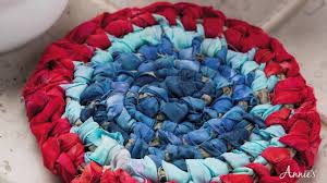 learn the no sew rag rug technique an annie s class preview you