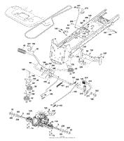 husqvarna yth 2348 96043003500 2006 11 parts diagram for drive