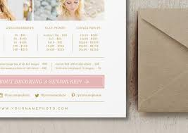 Pricing Template Photography Price List Template Free Template Business