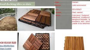 how to making wood deck tiles outdoor flooring tiles