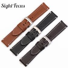 24mm leather watchband for suunto 9 ambit 3 vertical strap spartan sport hr watch band steel buckle wrist traverse strap bracelet watch watch straps for