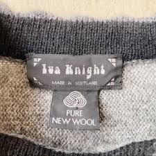 Vintage Sweaters | Iva Knight Vintage Rare Scottish Wool Puff Sweater |  Poshmark
