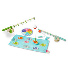 Melissa And Doug Wooden Games Melissa and Doug Wooden Magnetic Fishing Set Carters 2