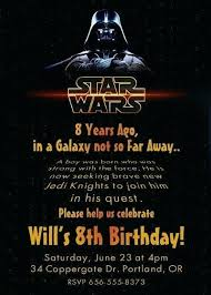 Star Wars Party Invitation Wording Star Wars Party