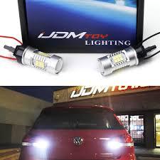 Mk6 Gti Brake Light Bulb Ijdmtoy Error Free 21 Smd 7440 W21w Led Backup Reverse Light