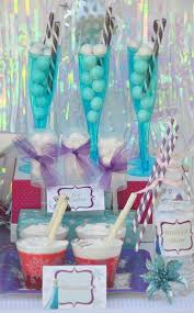 Disney Theme Decorations Karas Party Ideas Disneys Frozen Themed Birthday Party Supplies